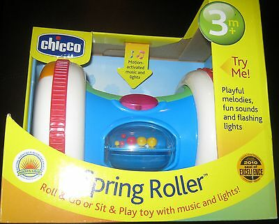 Chicco  Baby Spring Roller Developmental Toy - BRAND NEW IN BOX