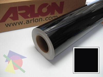 "24"" X 10ft - Black Gloss Arlon 5000 Intermediate Graphic & Sign Cutting Vinyl"
