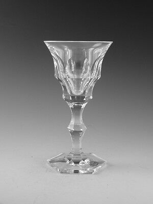 MOSER Crystal - DIPLOMAT Cut - WINE Glass / Glasses - 5 7/8""