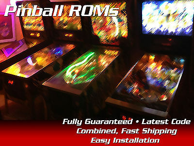 Eight Ball Deluxe CPU ROM Set Pinball Bally All versions including limited
