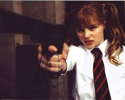 Chloe Moretz Signed Autographed 8x10 Kick-Ass Wendy Macready Hit-Girl Photograph