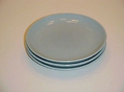 Iroquois China Casual Blue Bread and Butter Plate Set