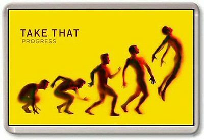Take That Progress album cover Fridge Magnet