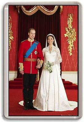 William and Kate Fridge Magnet #2 royal wedding
