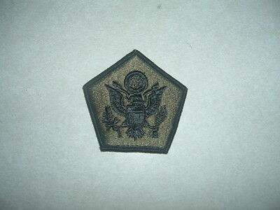 MILITARY PATCH US ARMY HQ HEADQUARTERS COMMAND SUBDUED NEW OLD STOCK