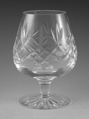 EDINBURGH Crystal - LOMOND Cut - Brandy Glass / Glasses - 4 7/8""