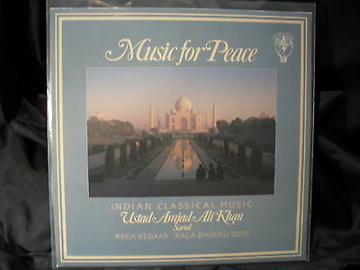 Ustad Amjad Ali Khan - Music For Peace / Indian Classical Music