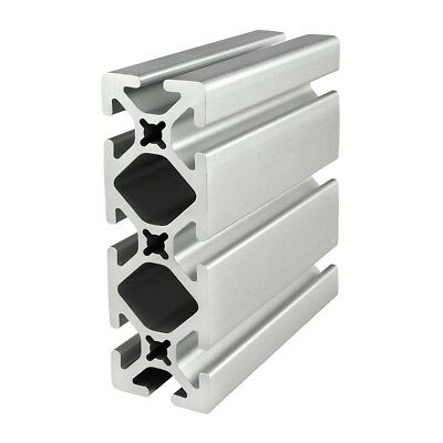 80/20 Inc T-Slot Smooth 1.5 x 4.5 Aluminum Extrusion 15 Series 1545-S x 12 N