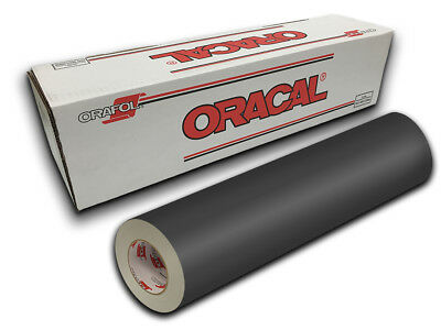 "24"" X 10yd - Dark Grey Oracal 651 Intermediate Graphic & Sign Cutting Vinyl"