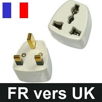 Adaptateur prise courant france 220v vers anglaise uk - Adaptateur prise uk ...