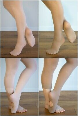 DANCE TIGHTS Ballet Pink / Tan TRIO PACK Footed / Convertible 3 Prs ON SALE!