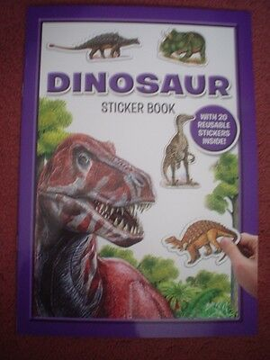 Dinosaur Sticker Book - Brand New