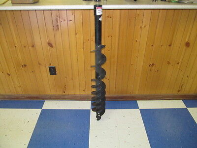 """Replacement 6"""" Post Hole Digger Auger, 6"""" Hole Size, Fits Most Post Hole Diggers"""