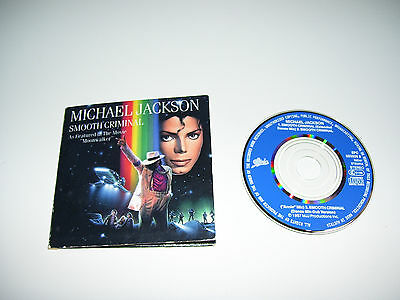 "Michael Jackson - Smooth Criminal * Rare 3"" 3 Track Cd Single Uk 1987 *"