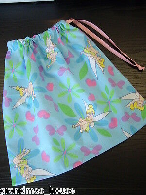Library Book Accessory Bag Drawstring Tinkerbell Great Gift Idea!