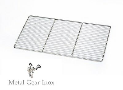 Grilles inox GN 1/1 ( 325 x 530 mm)  ( Lot de 10 ).