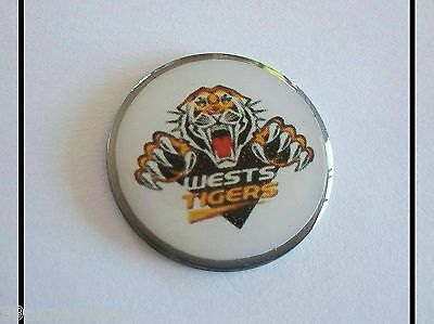 anneys ~ GOLF  BALL  MARKER - the west tigers !!! ~