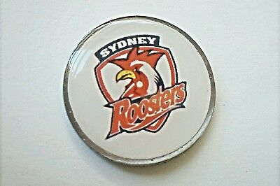 anneys ~ GOLF  BALL  MARKER - the roosters !!! ~