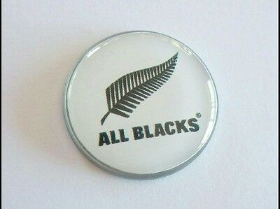 anneys ~ GOLF  BALL  MARKER - * the all blacks * ~