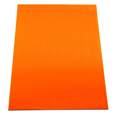 MagFlex® A4 Flexible Magnetic Sheet - Matt Orange (1 Sheet)