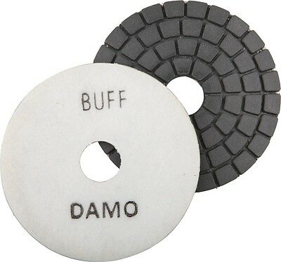 "5"" DAMO Black Buff Pad for Granite Polishing & Glazing/ Final Buffing Pads"