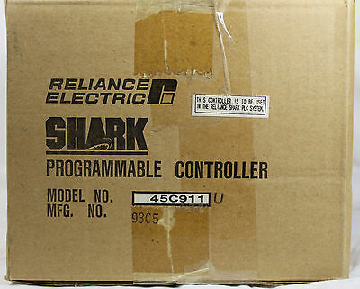 Reliance Electric  Shark 45C911 PLC Rack / Chassis  **NEW**
