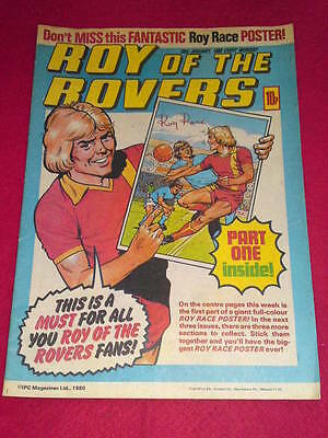 ROY OF THE ROVERS COMIC -  Jan 26 1980