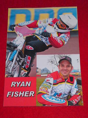 SPEEDWAY BOARD INSERT (165x240mm) - RYAN FISHER