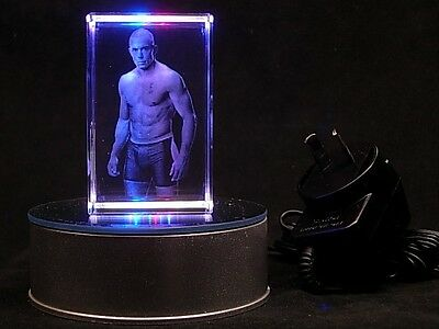 GSP Georges Rush St-Pierre MMA UFC Champion 240 volt Plug In Gift Light
