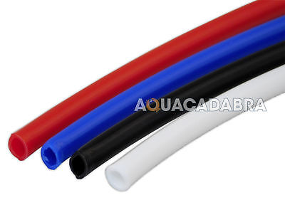 "Ro Pipe Tubing Hose 1/4"" Reverse Osmosis Red,blue,white,black Fish Tank Fridge"