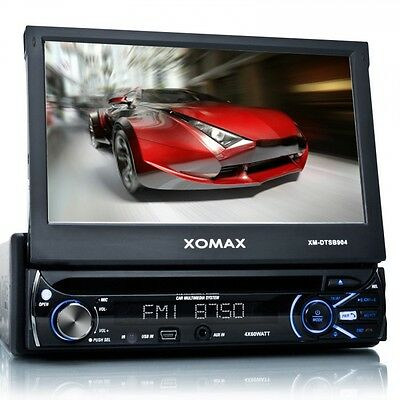 xomax xm dtsb904 autoradio 7 touchscreen dvd cd usb sd. Black Bedroom Furniture Sets. Home Design Ideas