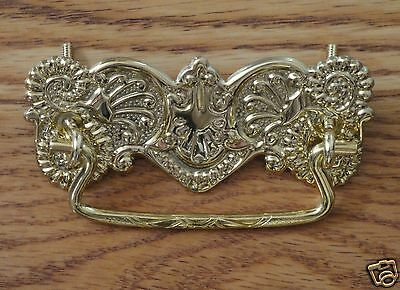 Eastlake Drawer Pull Brass