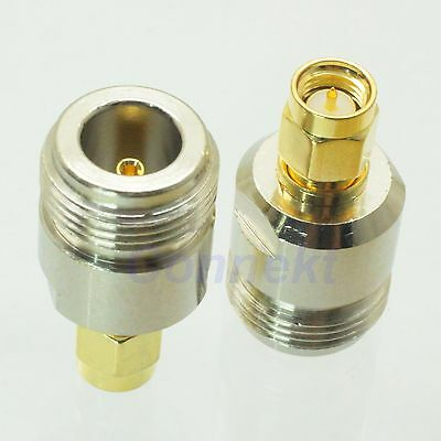 1pce N female jack to SMA male plug RF coaxial adapter connector