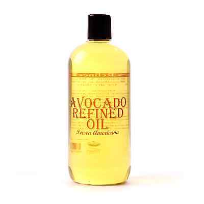 Avocado Refined Carrier Oil - 100% Pure - 1 Litre (OV1KAVOCREFI)