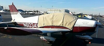 Piper PA 28  Sunbrella cabin and Windshield Covers