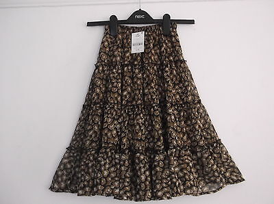 Next BNWT Print Tiered Skirt Age 3 years RRP £16