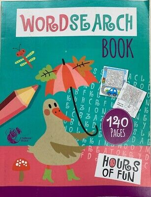 Wordsearch Book 140 Pages A4 Children Kids Word Search Book Giant Big Puzzles