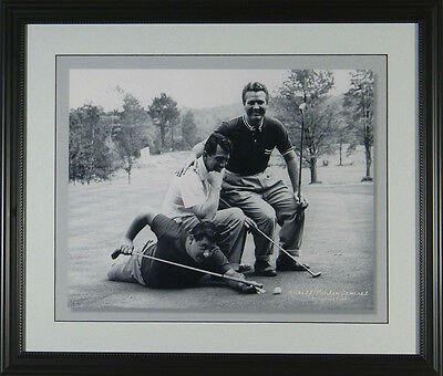 Jimmy Demaret Dean Martin Buddy Hackett Framed Golf Photo 11x14 or 16x20