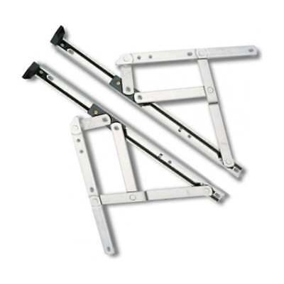 "UPVC Window Hinges Friction Stays. 8""10""12""16""20""24"" (One Pair)"