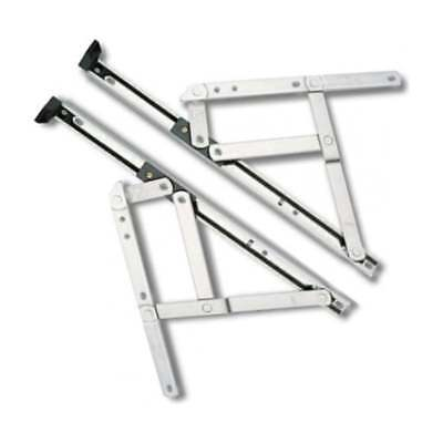 "UPVC Window Hinges Friction Stays 8"" 10"" 12"" 16"" 20"" 24"" Inch"