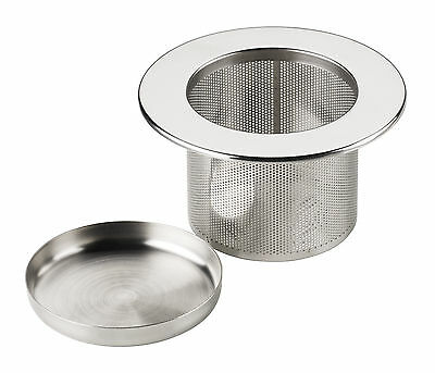 Tea Infuser Filter Strainer Sieve & Tray Metal Stainless Steel - Chiswick Tea Co