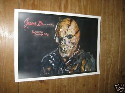 Friday the 13th Great New Horror POSTER