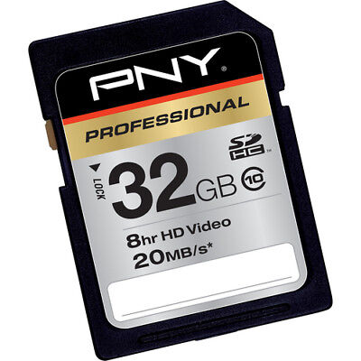PNY 32G class 10 SD card for Nikon Coolpix L24 L26 S3100 S4100 S6100 S6200 cam