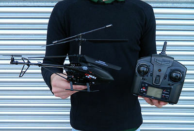 RC RADIO REMOTE CONTROL HELICOPTER 4 CHANNEL WITH CAMERA 2.4GHz RRP £69.99
