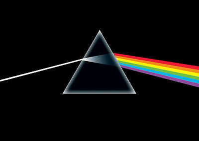 Pink Floyd Poster Dark Side of the Moon  Gloss Laminated New Sealed Free UK P&P