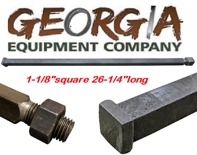 "Disc Harrow Parts, 1-1/8"" Square X 26-1/4"" Long Harrow Axle, We Have All Sizes"