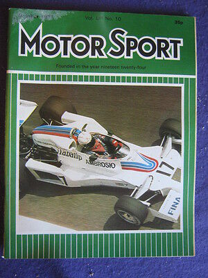 MOTORSPORT - Oct 1977 vol 53 # 10