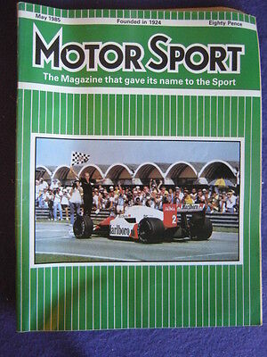 MOTORSPORT - May 1985 vol 61 # 5
