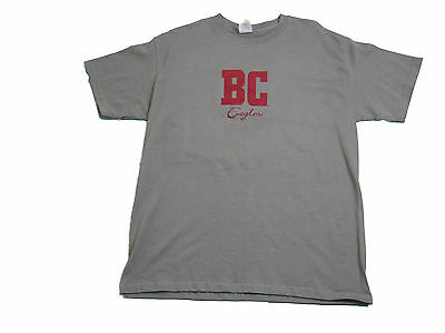 BOSTON COLLEGE EAGLES ADULT MAROON EMBROIDERED SHORT SLEEVE T-SHIRT NEW