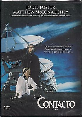 Contacto / Contact DVD NEW Jodie Foster Matthew Mcconaughey Factory Sealed!